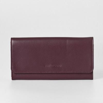 Clutch Wallet | Burgundy