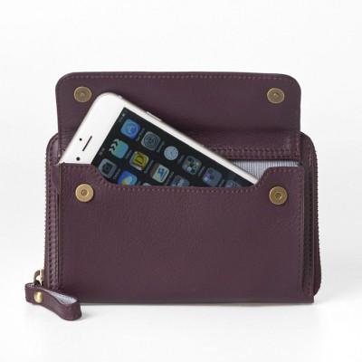 Smartphone Wallet | Burgundy