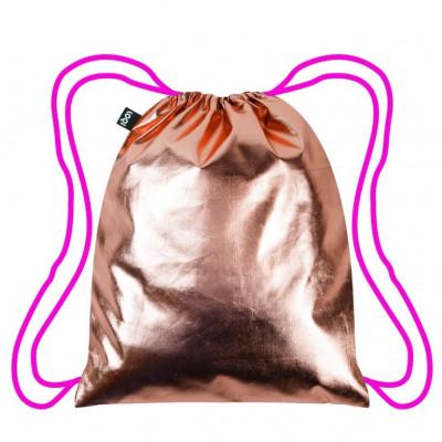 Backpack Metallic   Rose Gold - Neon