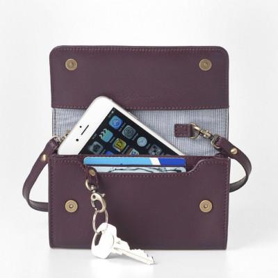 Smartphone Mini Bag | Burgundy