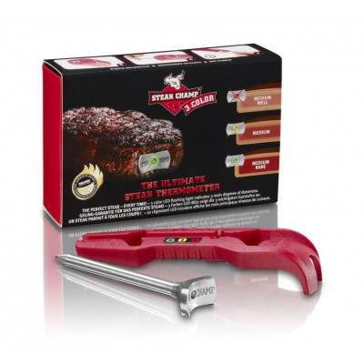 Steakchamp Meat Thermometer | 3 in 1