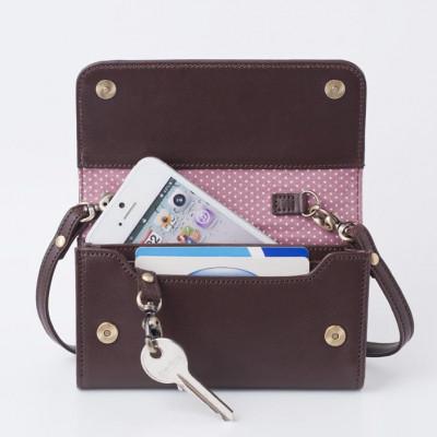 Smartphone Mini-Tasche | Schokolade