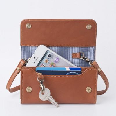 Smartphone Mini-Tasche | Karamell