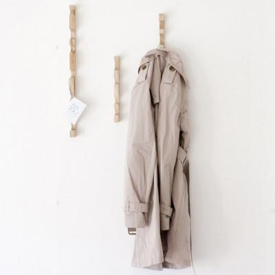 Sottosopra 3 Kleiderbügel | Natur