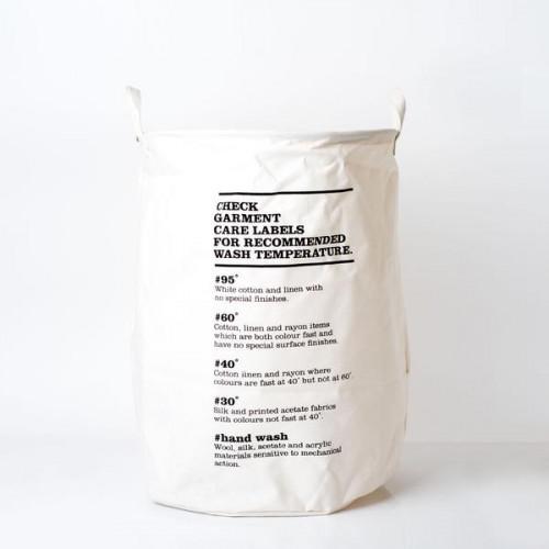 Laundry Bag, Wash Instructions