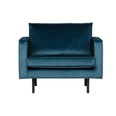 Armchair Rodeo Velvet | Blue