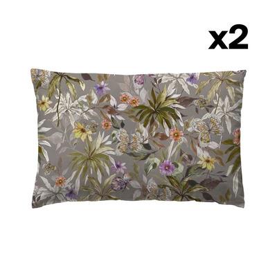 Set of 2 Pillow Covers 50 x 75 | Timanfaya Otoño