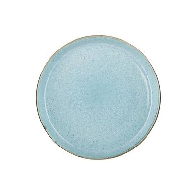 6er-Set Tellern Gastro   Grau/Hellblau 27cm