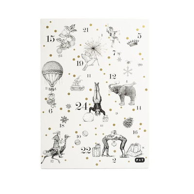 Adventskalender | Schwarz & Weiß