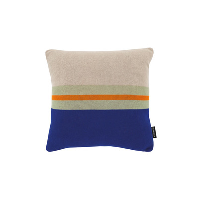 Knitted Cotton Cushion Pepper | Multicolour
