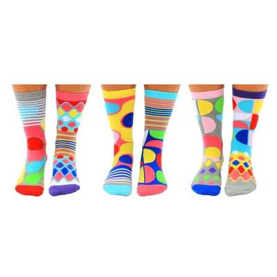Damen Geschenkbox 6er Pack Socken Foot Kandy   37-42