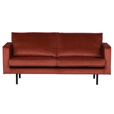 2,5 Seater Sofa Rodeo Velvet | Chestnut