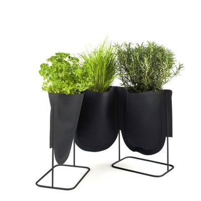 Pflanzenstand 3x S | 1 l | Schwarz