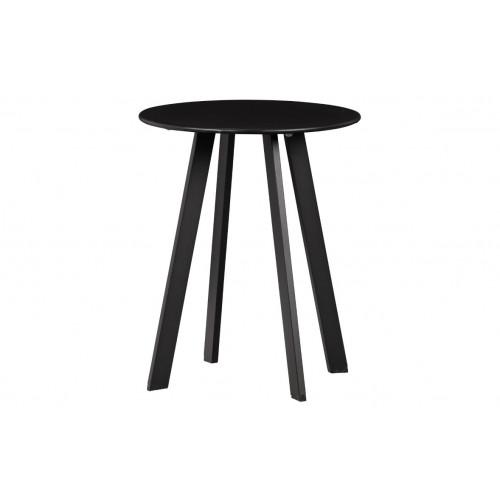 Beistelltisch für Draußen Fer Ø 40 cm | Schwarz