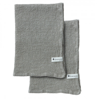2er-Set Handtuch Waffly | Stone
