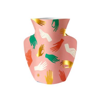 Papier-Vase | Hamsa