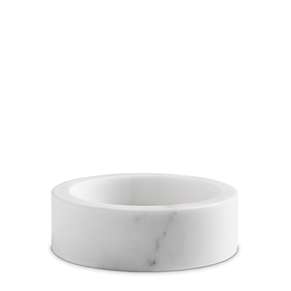 Weißer Marmor | Kerzenständer