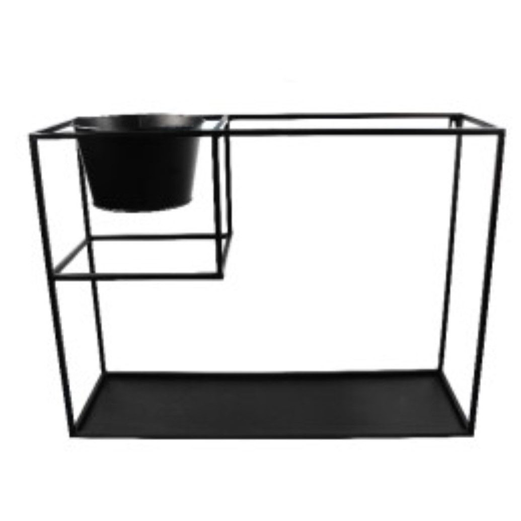 Wall Shelf Large | Metal Black