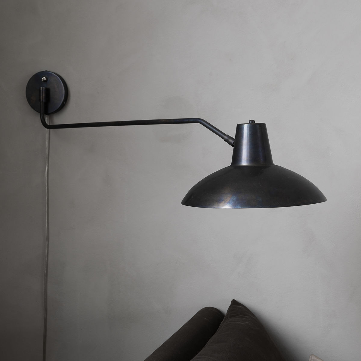 Wall Lamp Desk | Antique Brown