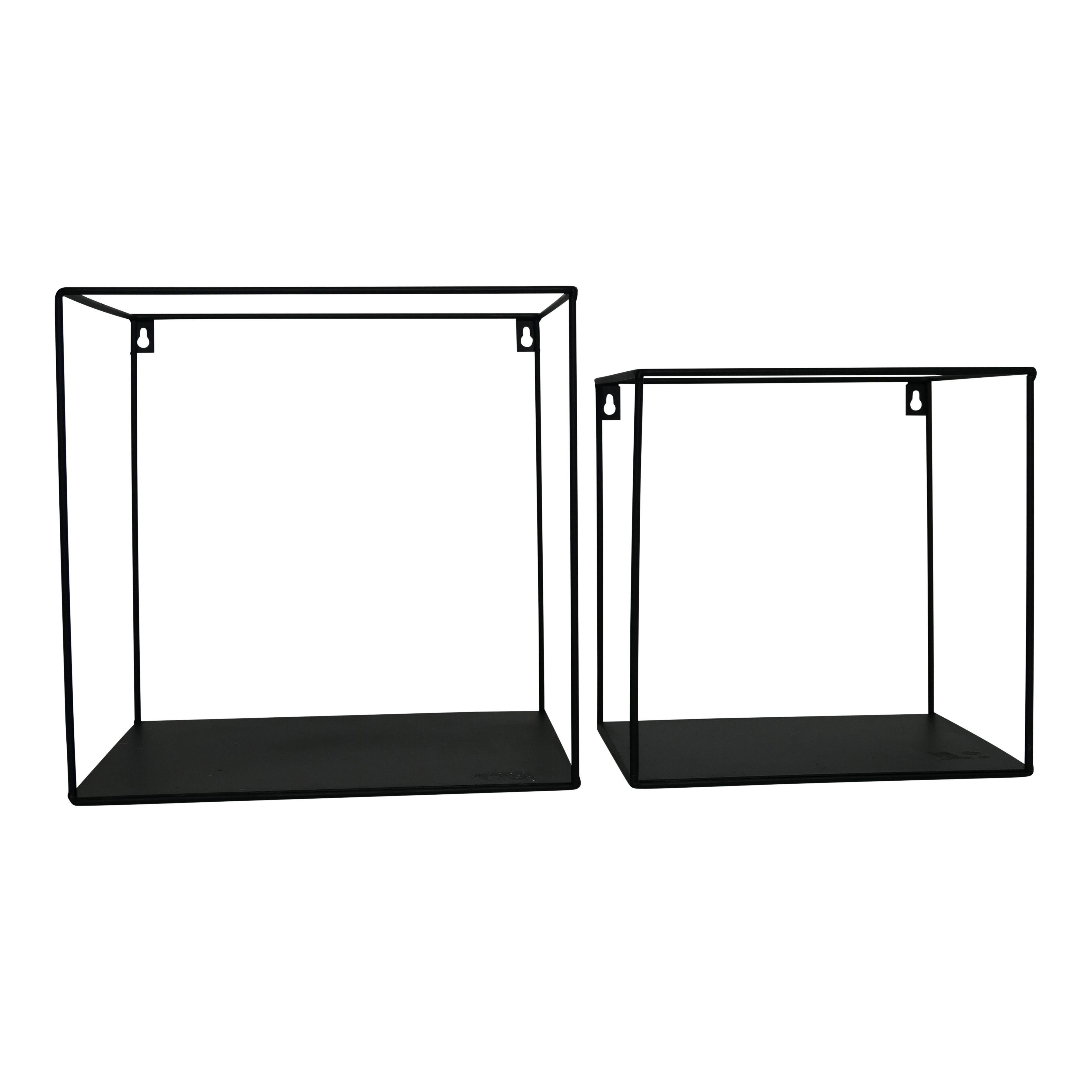 Wall Shelves Metal | Set of 2