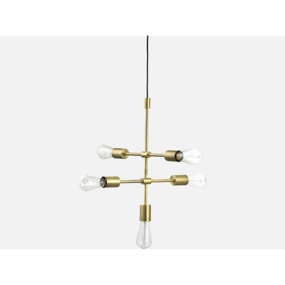 Piper Lounge Pendant 5 Arms