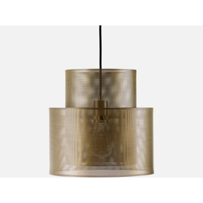 Cyla Pendant Lamp | Matt Antique Brass