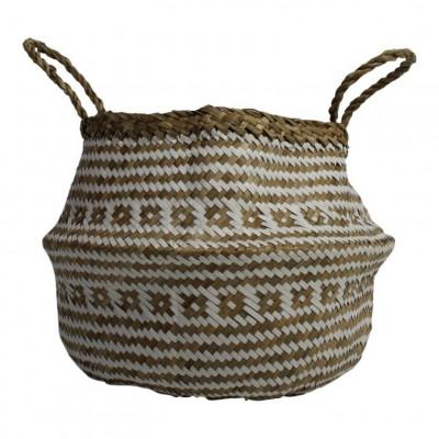 Basket Seagrass | White