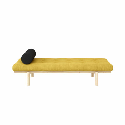 Daybed Next | Honey & Clear Lacquered Frame