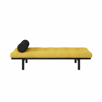 Daybed Next | Honey & Black Lacquered Frame