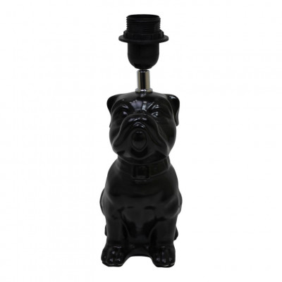 Table Lamp Dogstyle   Black