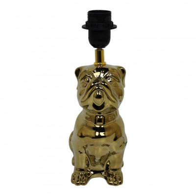 Table Lamp Dogstyle   Gold