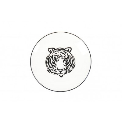 HV Frühstücksbrett Mr Tiger Ø 20cm l Weiß