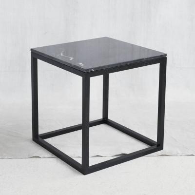 Schwarzer Würfel-Tisch | Schwarz