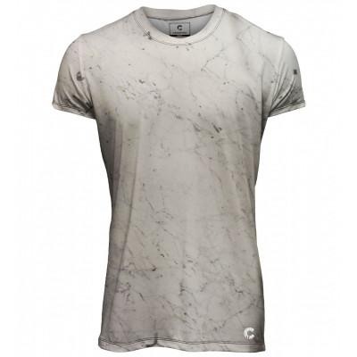 Marble Men T-Shirt | White