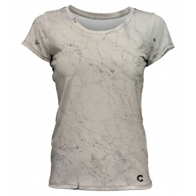 Marble Women T-Shirt | White