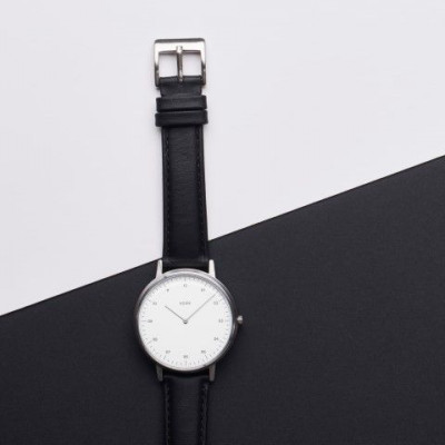 Watch | Silver / Black