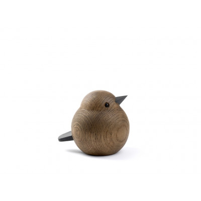 Oak Bird Mama Sparrow Brown | Medium