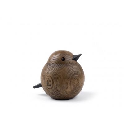 Oak Bird Papa Sparrow Brown | Large