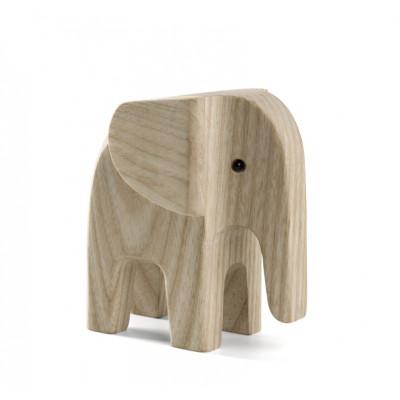Elefant Baby   Eschenholz