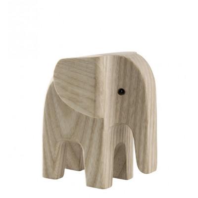 Elefant   Eschenholz