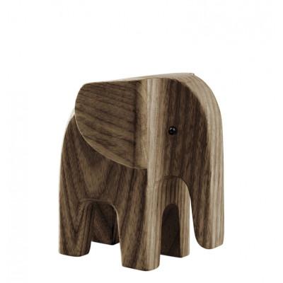 Elefant   Dunkel Eschenholz