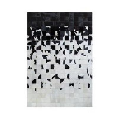 Leather Carpet | Degrada Black & White