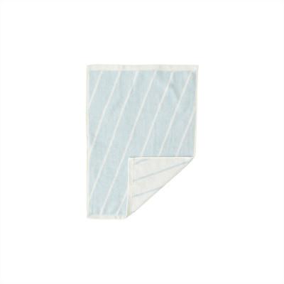 Handtuch Raita | Cloud + Eisblau Mini