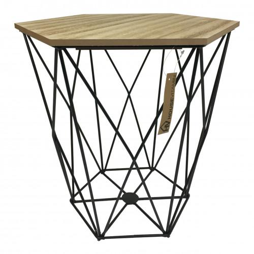 Sidetable Large | Wood / Black
