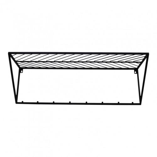 Wall Shelf Triangle | Black
