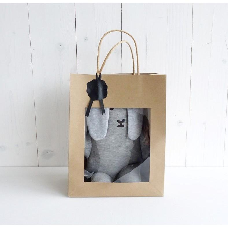 Cuddly Flap in Bag   Grey