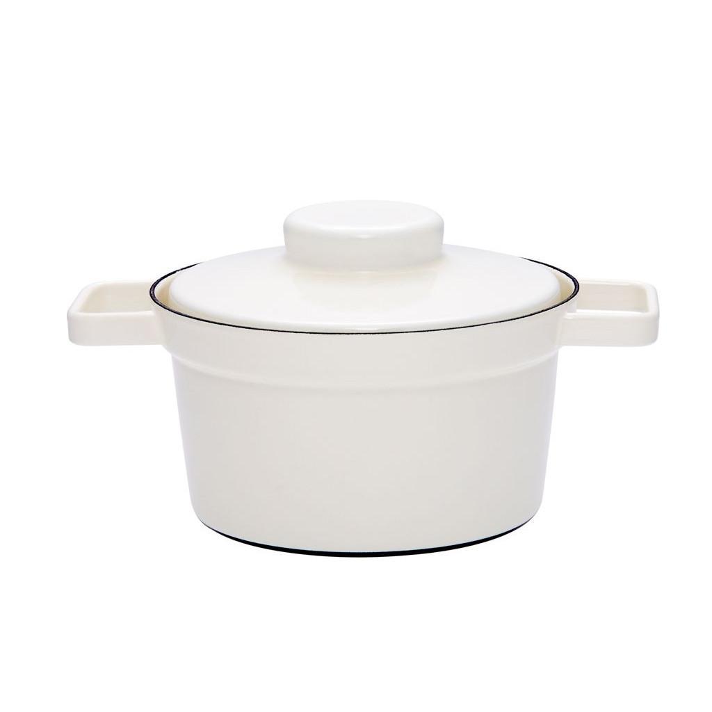 Aromapot Wit, Pot met deksel