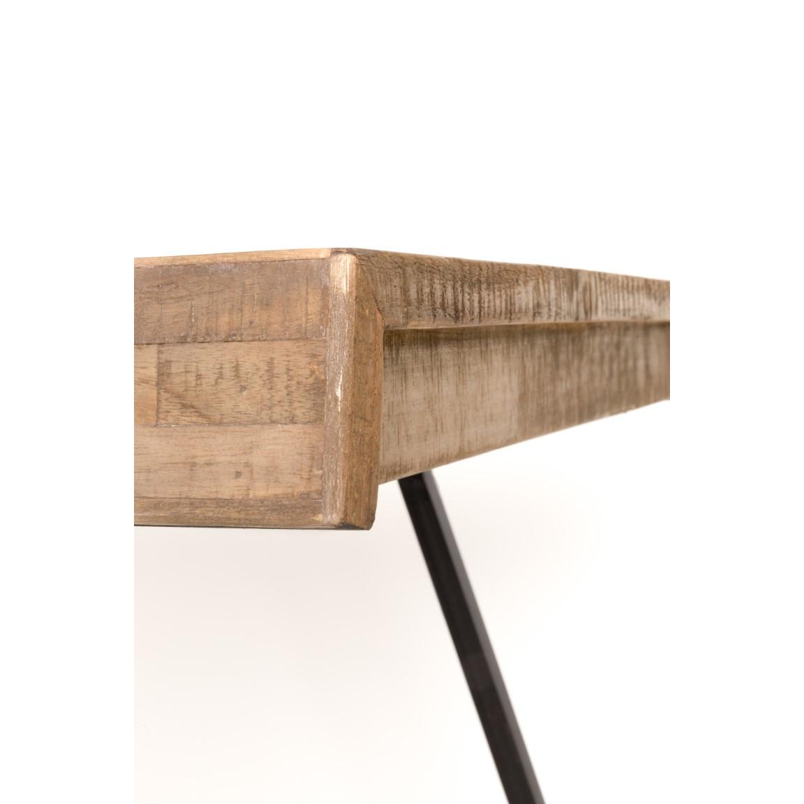 Tisch Suri 200 cm | Helles Holz