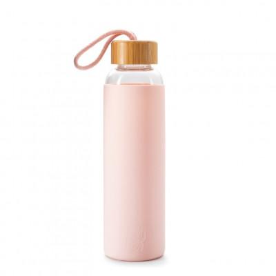 Wasserflasche Maneki Neko   Rosa