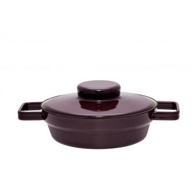 Aromapot Dark Aubergine, Pan with Lid-Medium